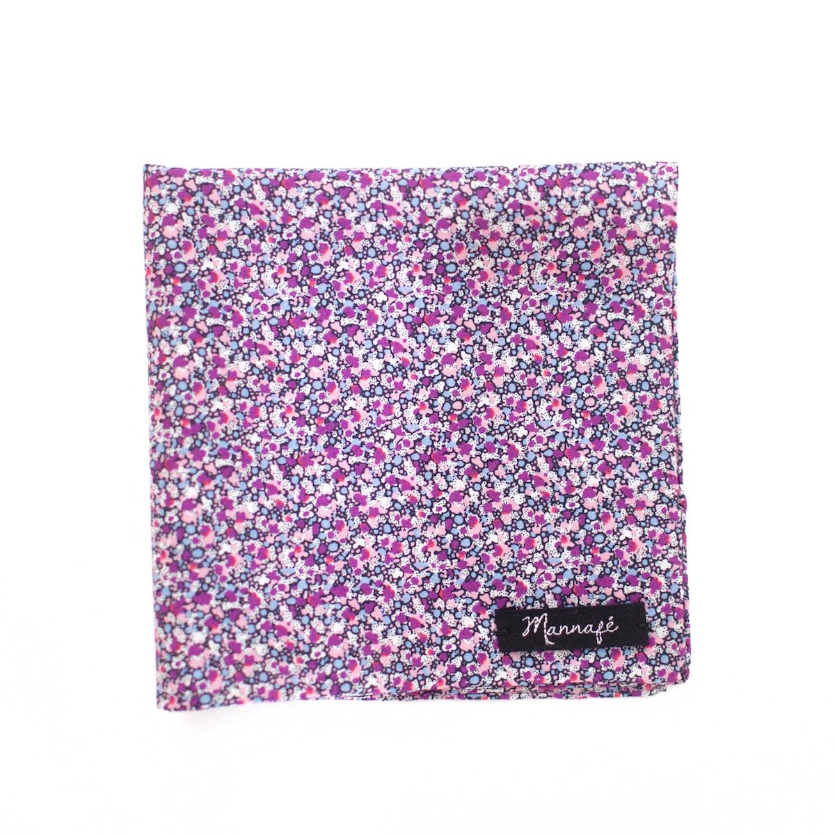 pochette de costume liberty pepper violet mannaf. Black Bedroom Furniture Sets. Home Design Ideas